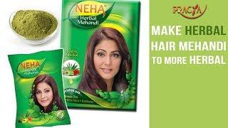Make Herbal Hair Mehndi To More Herbal | Must Watch