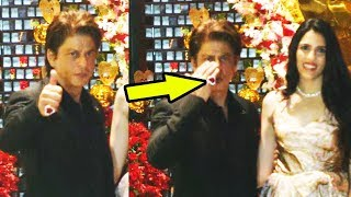 Shahrukh Khan Gets Expensive Diamond Ring From Ambani At Engagement Party