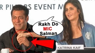 Katrina Kaif Feels Embarrassed Coz Of Salman Khan At Dabangg Tour Press Conference