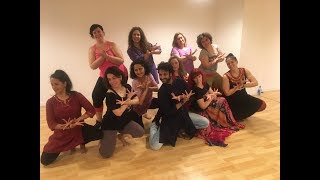 Bollywood workshop in Madrid (Spain) by Devesh Mirchandani- Part 2