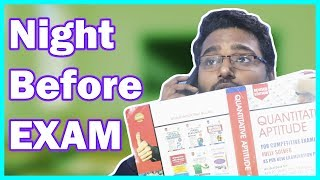 Night Before Exam - Last Exam in India || KG is Here