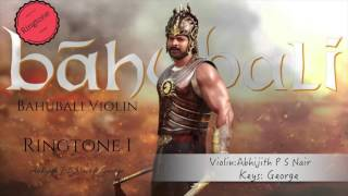 Dandalayya Ringtone 1 Bahubali  Abhijith P S Nair A Tribute Violin