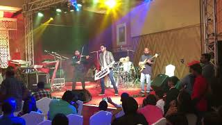 bhijith P S Nair and Stephen Devassy performing Oorvasi and Jai ho
