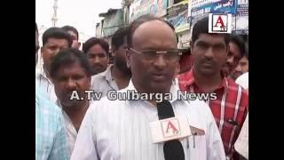 City Corporation PWD Officials Gulbarga Negligency A.Tv Gulbarga