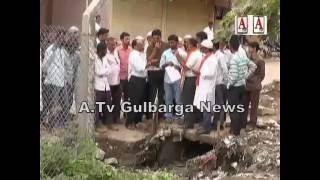 SDPI Ka Muslim Chowk Per Rasta Roko Protest A.Tv Gulbarga News