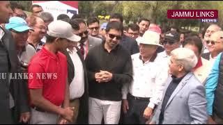 Tassaduq Mufti inaugurates golf tournament at Royal Springs Golf Course