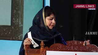 J&K left alone by the country: Mehbooba Mufti