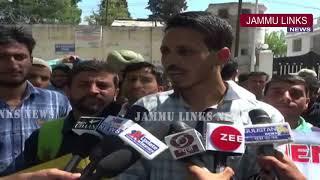 SBM Employees of Doda unit protest against Govt