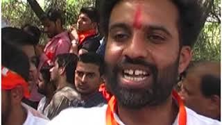 सीएम केजरीवाल के खिलाफ ABVP का विरोध प्रदर्शन, दिल्ली विधानसभा का किया घेराव