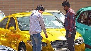 Kid Buying Luxury Car from Showroom (Poor vs Rich) - Social Experiment | TamashaBera