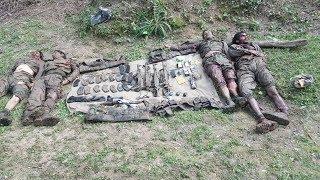4 terrorists gunned down in Rajouri