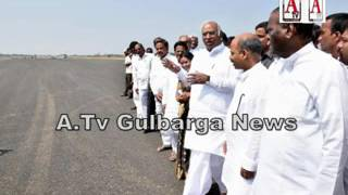 Gulbarga Air Port ek saal k ander flights k liye ready hoga; Kharge