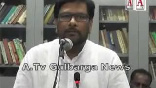 National education society Gulbarga ki janib se Alhaj Iliyas saith ko Taheniyat