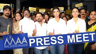 MAA Association Press Meet || MAA Press Meet Over TFI Controversies