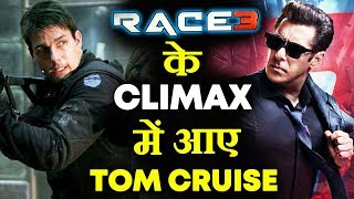 Tom Cruise Shoots Mission Impossible Near Salman's RACE 3 SET | Climax Scene