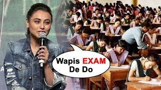 Rani Mukerji Reaction On CBSE Re-Exam | CBSE Paper Leak | Hichki Movie Success Press Conference
