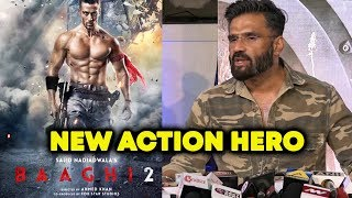 Suniel Shetty At Baaghi 2 Screening | Baaghi 2 Review | Tiger Shoff