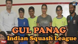 Gul Panag At Launch Of Indian Premier Squash League