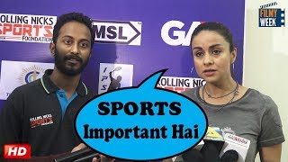 """Gul Panag : """"SPORTS IS MOST IMPORTANT"""" 