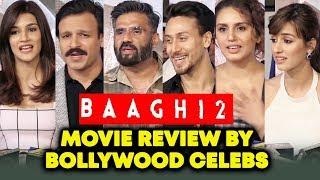 BAAGHI 2 REVIEW By Bollywood Celebs | Sunil Shetty, Vivek Oberoi, Huma Qureshi