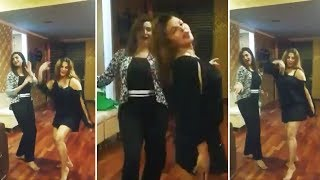 Arshi Khan And Rakhi Sawant SENSUOUS DANCE | Arshi Khan LIVE