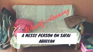 Safai Abhiyan - Weekly cleaning???? Indian Rented Accommodation | A Day in my Life |Nidhi Katiyar
