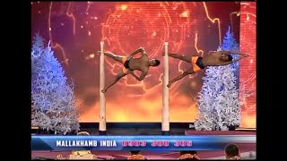 Georgia's Got Talent Finalist Incredible  Mallakhamb act