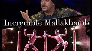 India's Got Talent session 7 Finalist Incredible Mallakhamb | golden Freeze awarded performance