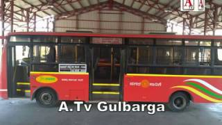 Ladies City Busses Start In Gulbarga City From 26th Nov A.Tv News 23-11-2016