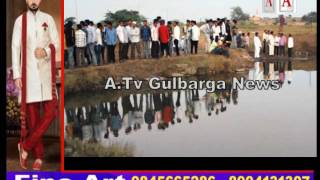 Gulbarga Me Azadpur Se Near 2 Boys Paani Me Doobe 2 Boys Safe A.Tv News 27-11-2016