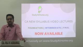 Message by CA Raj K Agrawal to CA New Syllabus Students | How to Prepare for New Syllabus