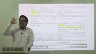 Composition Scheme under GST by CA Raj K Agrawal