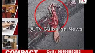 Ring Road Gulbarga Per Accident A.Tv News 3-12-2016