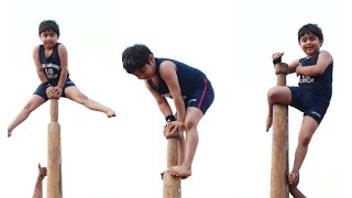 India's Incredible Kids | performing Mallakhamb | Indian Pole |
