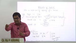 Valuation of Goodwill | CA Intermediate Advanced Accounting by CA Raj K Agrawal