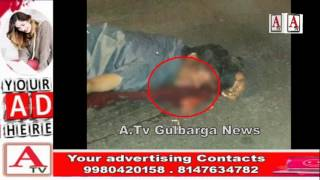 Road Accident At Ring Road Gulbarga A.Tv News 27-12-2016