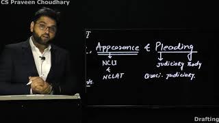 Drafting, Appearances & Pleading by CS Praveen Choudhary