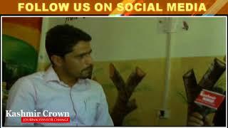Kashmir Crown Reaches Uri School For Ayman, Principal MM Memorial Talking To Kashmir Crown