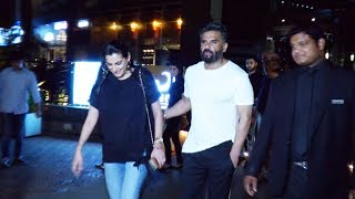 Anna Sunil Shetty With Family Spotted At Yauatcha For Dinner