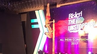 Incredible Mallakhamb | Spectacular performance | at All India Bisleri Unstoppable Conference 2017.