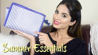 SUMMER BEAUTY ESSENTIALS FOR TRAVEL l BeautyConfessionz