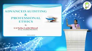 Intro & Company Audit | CA Final Audit by CA Neha Lathi Mittal