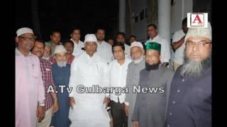 Farooq Hussain Maniyal Ko Nominate Karne Per Mallikarjun Kharge Priyank Kharge Ko Felicitation