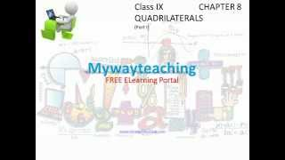 Math Class 9 Chapter 8 Part I|QUADRILATERALS|QUADRILATERALS for class 9|