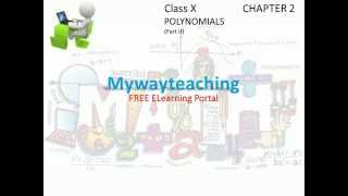 Math Class 10 Chapter 2 Part II|POLYNOMIALS| Polynomials for class 10|