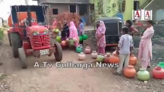 Free Water Supply to Poor Localeties of Gulbarga By ilyas Sait Chairman NEKRTC A.Tv News 4-4-2017