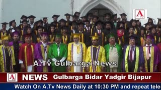 Education Day KBN Medical College Gulbarga A.Tv News 1-5-2017