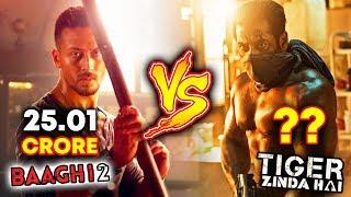 BAAGHI 2 Vs Tiger Zinda Hai | 1st DAY COLLECTION | BOX OFFICE