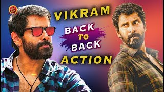 Vikram Non-Stop Action Scenes - Latest Telugu Movie Scenes - Bhavani HD Movies