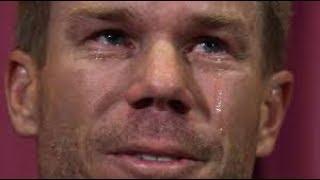 I may not play for Australia again, says tearful David Warner